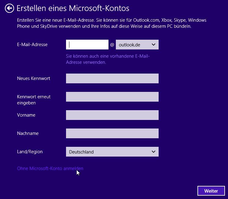 anmeldung microsoft konto