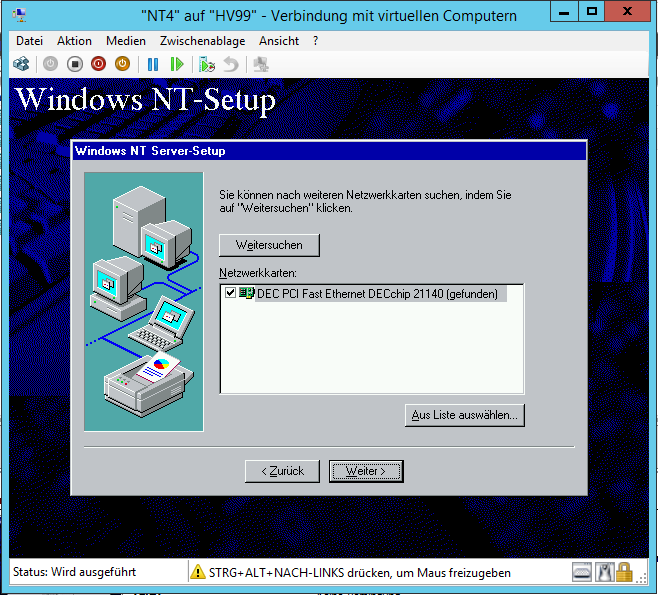 Windows Nt Faq: Windows NT 4. 0 Als VM In Hyper-V